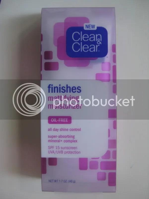 Clean and Clear Mattifying Moisturizer,warmvanillasugar0823