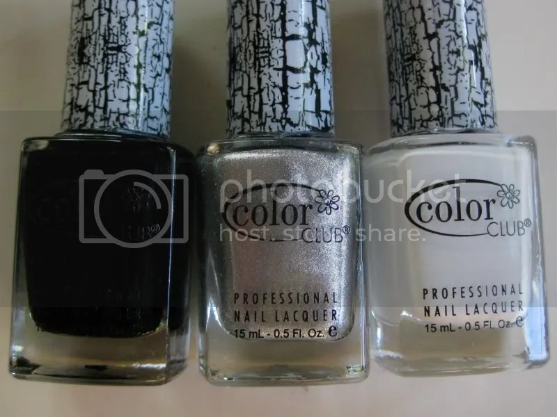 Color Club Fractured,Color Club Smash Hit,Color Club Clean Break,Color Club Broken Tokens,warmvanillasugar0823