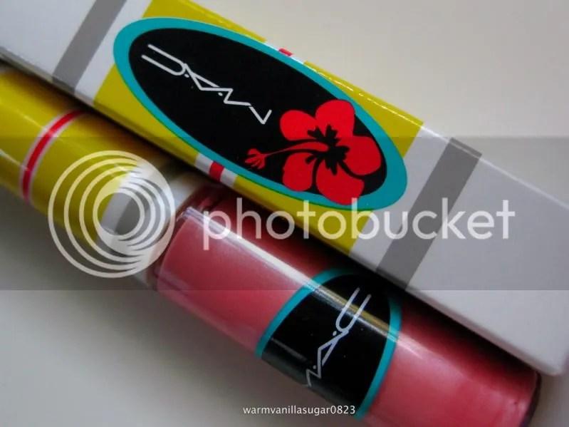 Mac Strange Potion Lip Glass,Mac Surf Baby Collection,warmvanillasugar0823