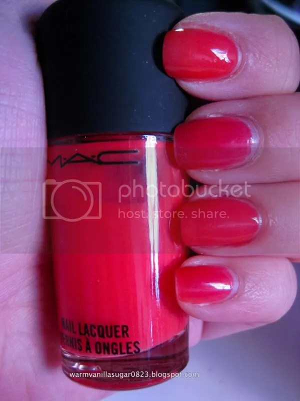 OPI Big Hair Big Nails,OPI Texas,Mac Scorcher,warmvanillasugar0823
