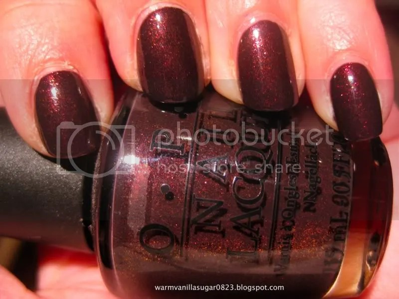 OPI,OPI Tease-y Does It,OPI Burlesque,warmvanillasugar0823