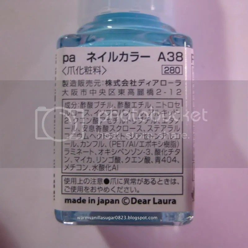 Pa Nail Polish,Japanese Nail Polish,warmvanillasugar0823,Pa Nail Polish A38