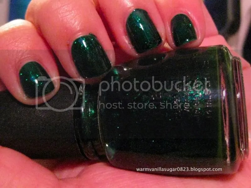 china glaze emerald sparkle,warmvanillasugar0823