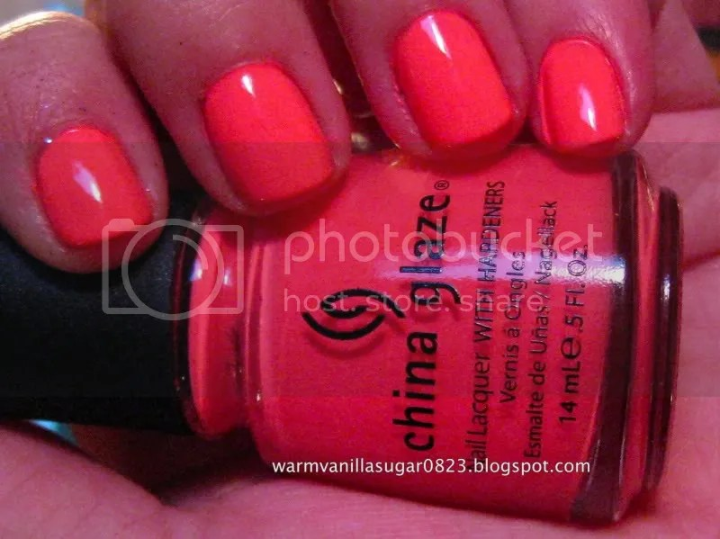china glaze flip flop fantasy,china glaze summer 2010,warmvanillasugar0823