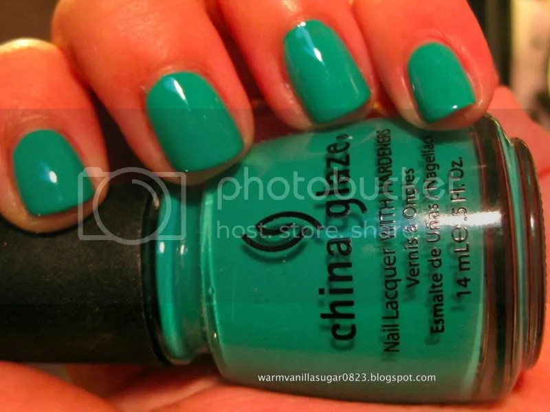 china glaze four leaf clover,china glaze spring 2010,warmvanillasugar0823