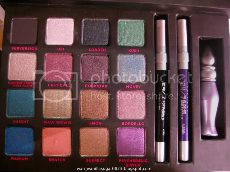 Urban Decay Book Of Shadows III,Urban Decay Loves New York City,warmvanillasugar0823