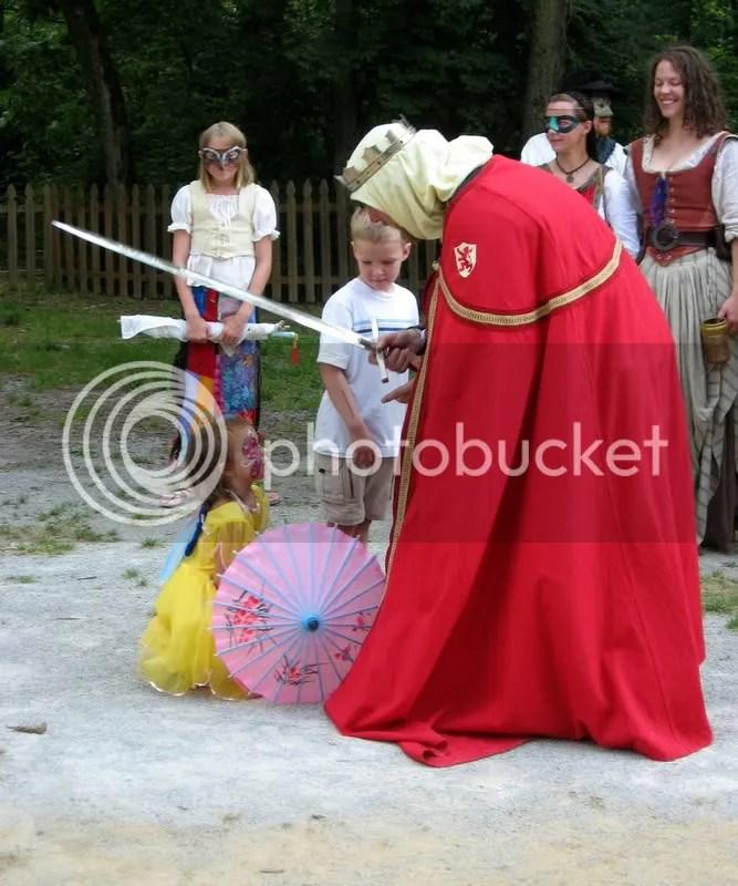 A Knighting