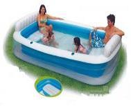 حمامات السباحة المنزلية بدون حفراوتكسير ومراتب هواء