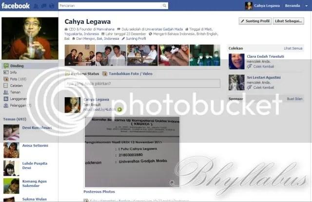 Antarmuka Facebook Lawas