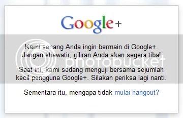 Pengumuman Google+ Games