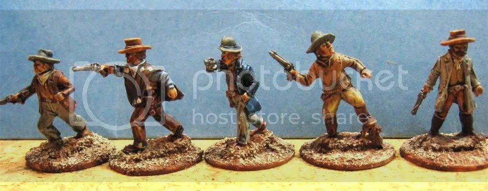 Old Glory 25mm Cowboys 105