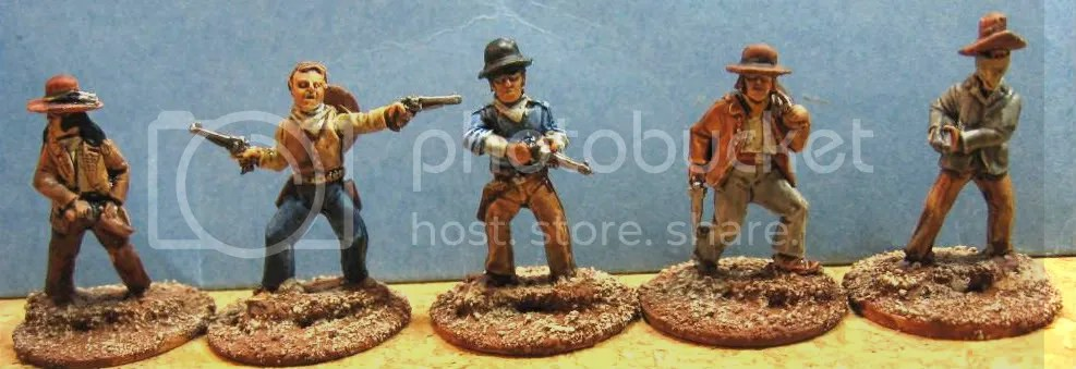 Old Glory 25mm Cowboys 110