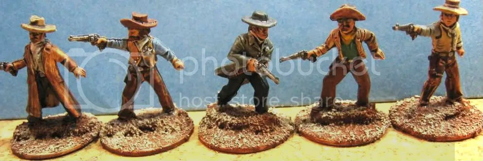 Old Glory 25mm Cowboys 115
