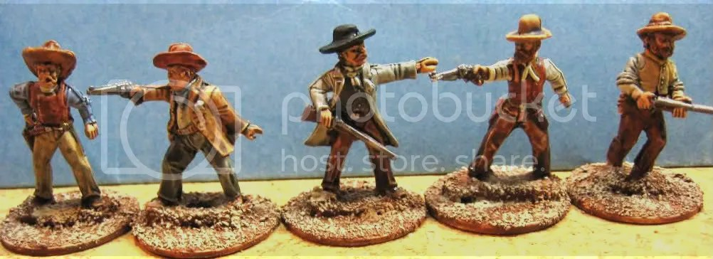 Old Glory 25mm Cowboys 125