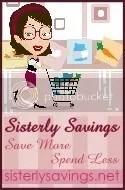 Sisterly Savings button