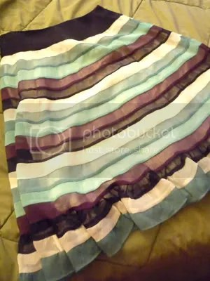 striped skirt!