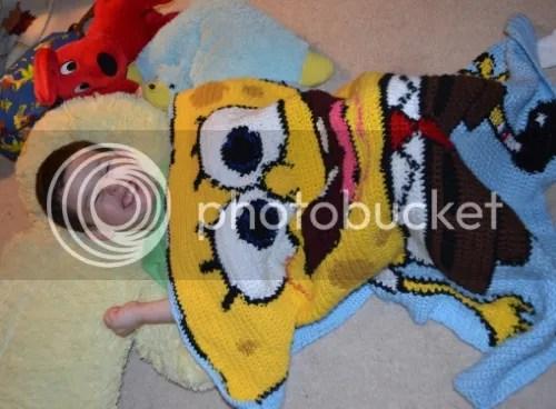 Spongebob Crochet Afghan Free Pattern Designs By Jmo