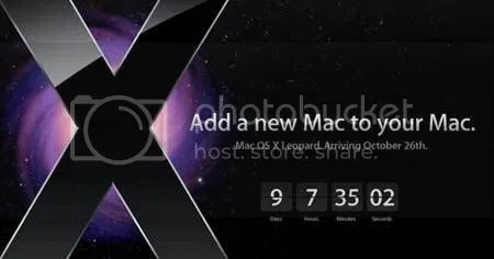 Leopard - the new MacOSX