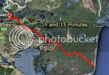 The path to Danube Delta