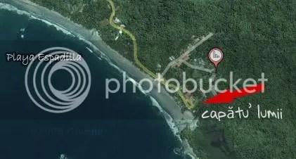 Manuel Antonio Map