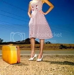 Woman & Suitcases Pictures, Images and Photos