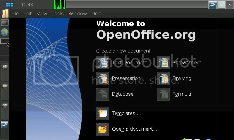 OpenOffice.org Welcome