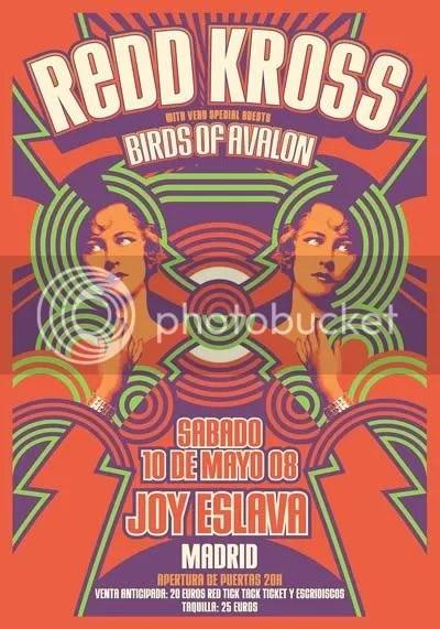 REDD KROSS el sábado 10 de Mayo la sala Joy Eslava