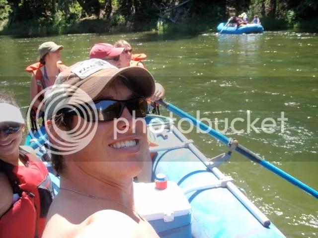 On the water, woohoo