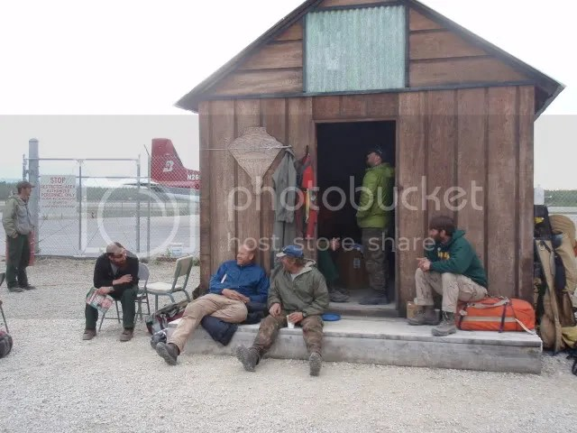 the standby shack in McGrath- spent a week there