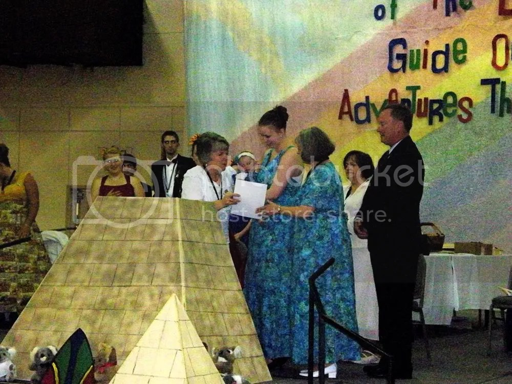 Receiving a certificate....26 years after my mother received one when I was dedicated.