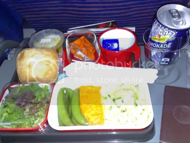 Airplane Meal.