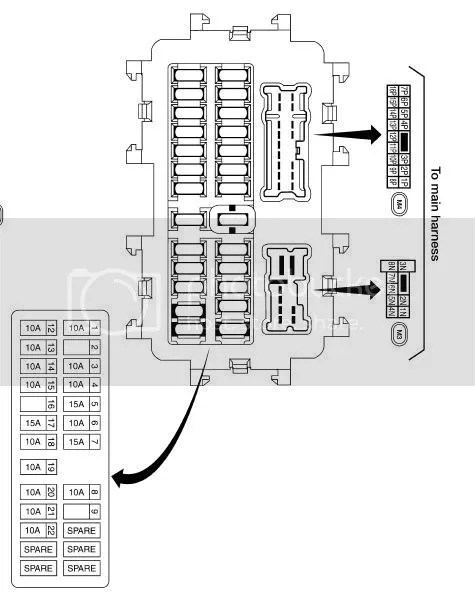 2005 Xterra Fuse Box Location
