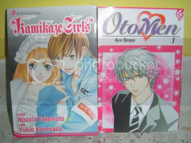 Kamikaze Girls #1 and Otomen #1.