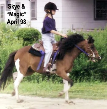 Skye riding Magic Place Resida