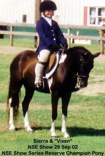 Sierra & Vixen - 2002 NSE show Series reserve champions