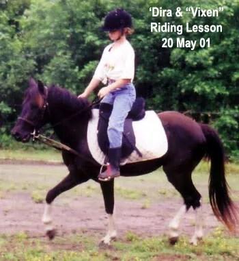 Madira & Vixen - LP Painted Ponys, Parkton, NC - 2001