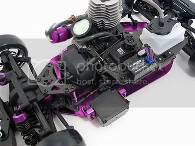 nitro rc gas car chassis