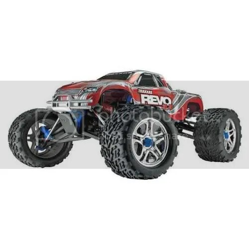 Traxxas Revo 3.3 Nitro RTR truck
