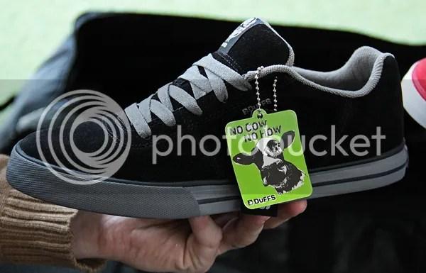 Kevin Porter BMX shoe DuFFS