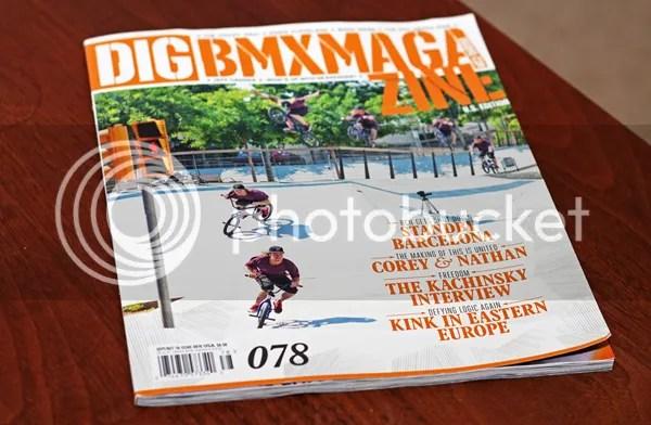 DIG BMX Magazine - Issue 78