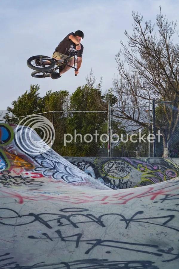 Chris McMahon BMX