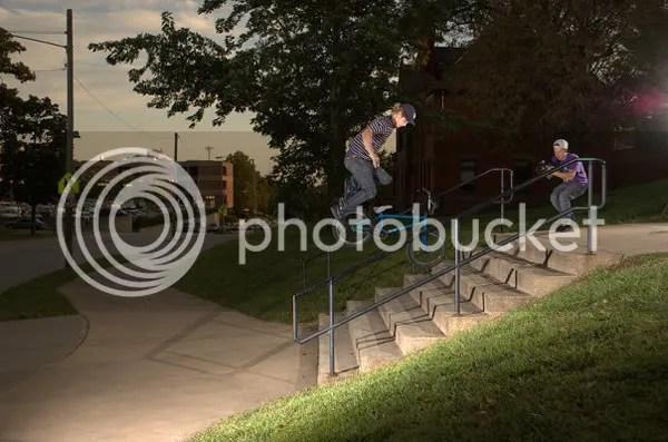 Tony Malouf filming Josh Eilken