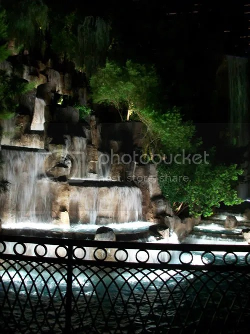 Las Vegas Waterfall