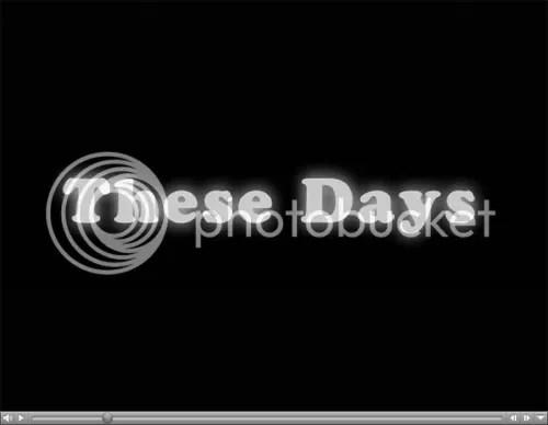 These Days BMX DVD