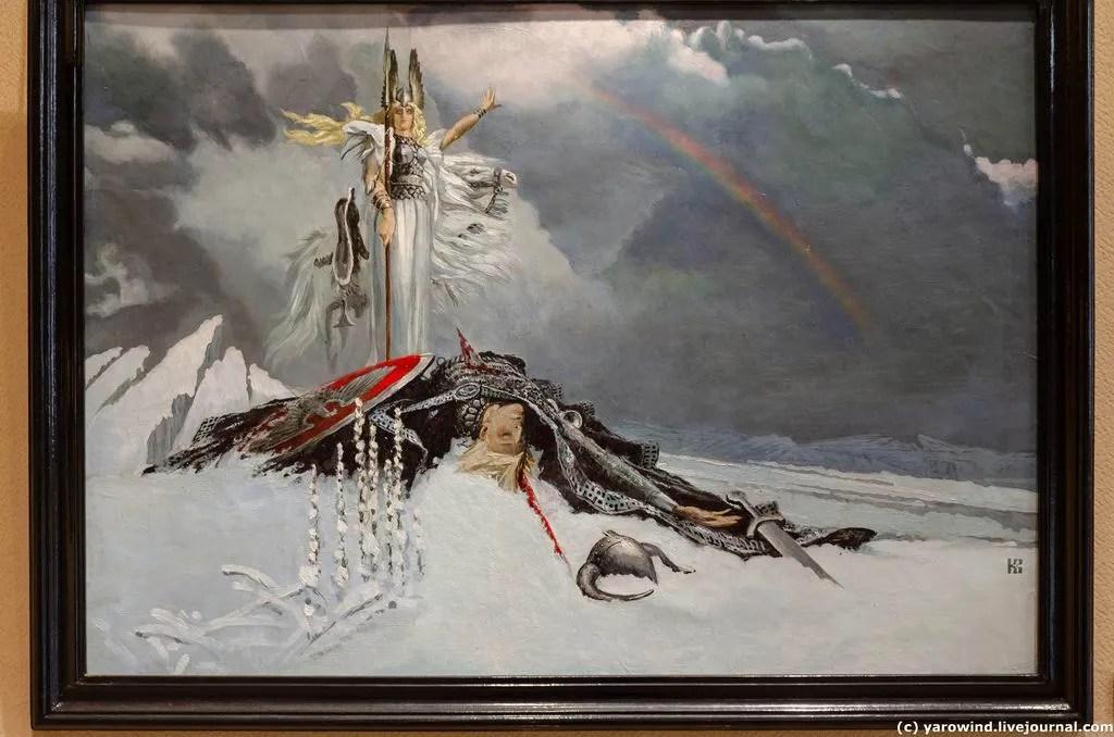 картины васильева фото витязи пост посвящен длительной