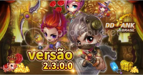DDTank Brasil Launches Version 2.3, Adding New Features and New Gameplay
