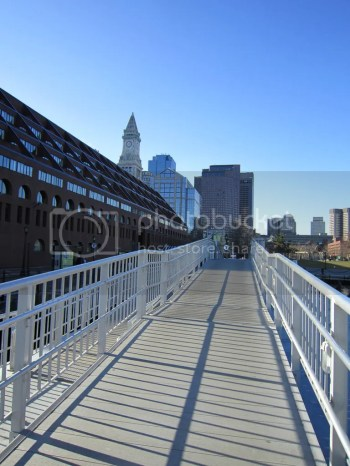 pier view of boston skyline