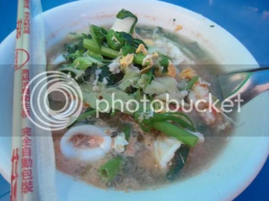 seafood thai mee