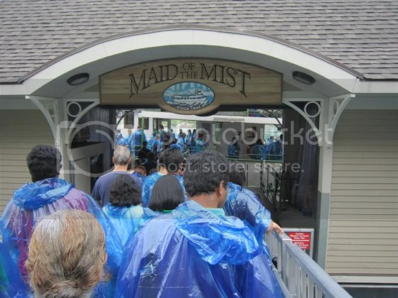 on board maid of the mist