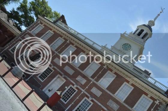 Independence Hall closeup